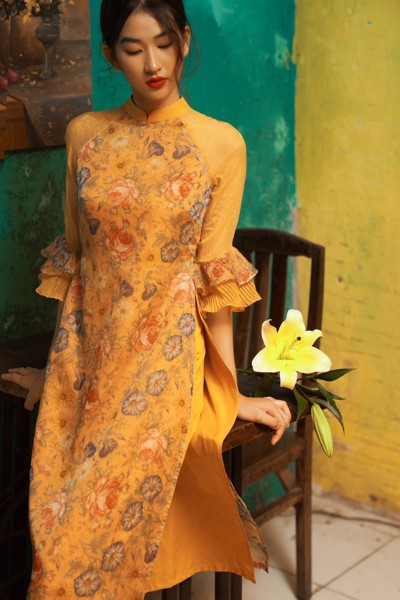 Quần Long Pants in Yellow
