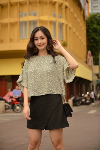 Grey Liti Top
