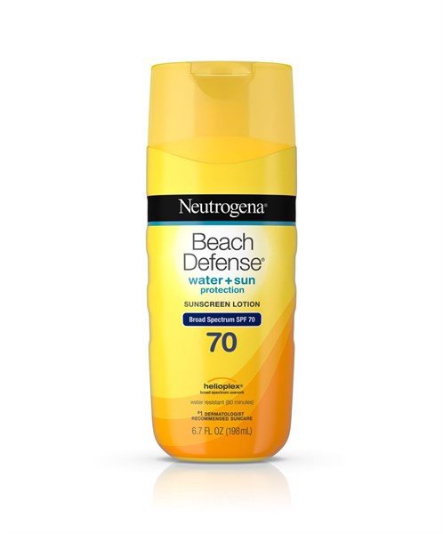 Beach Defense Sunscreen Body Lotion Broad Spectrum Spf 70