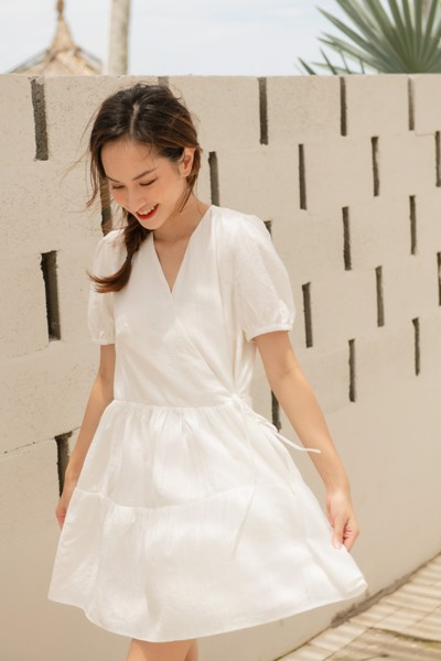 Anna Mini White Dress