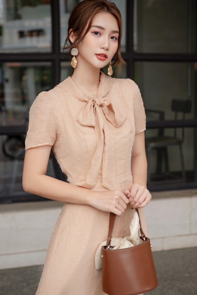 Dottie Beige Dress