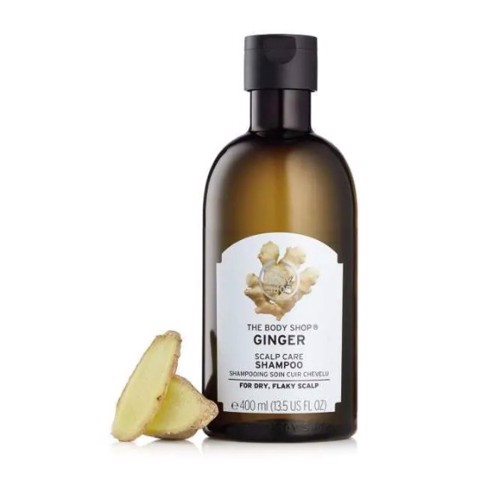 Dầu gội/ xả trị gàu Gừng The Body Shop Ginger Scalp Care