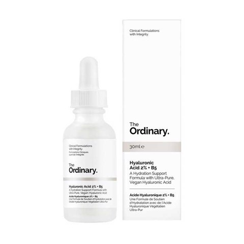 Serum cấp ẩm The Ordinary Hyaluronic Acid 2% + B5