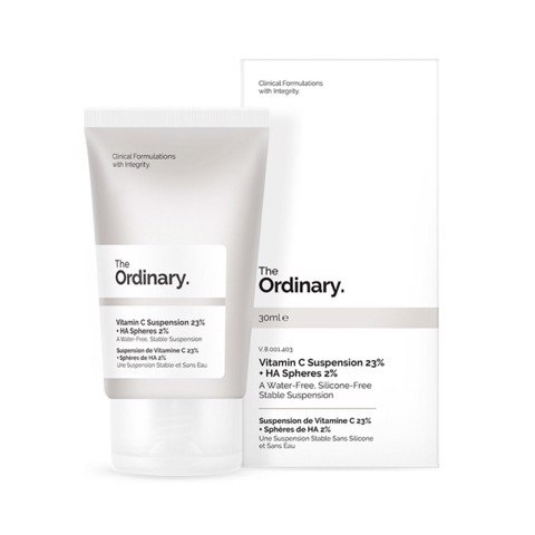 Kem Dưỡng Trắng Da The Ordinary Vitamin C Suspension 23% HA Spheres 2%