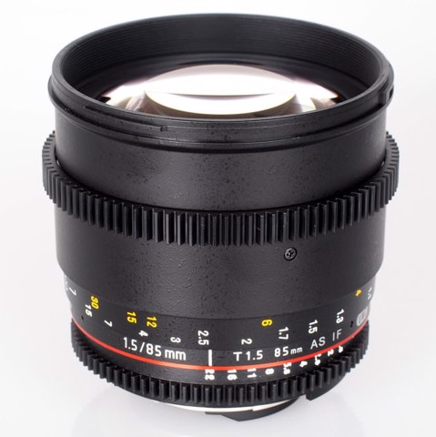 Len Samyang 85T1.5 AS IF UMC ( sony E mount)