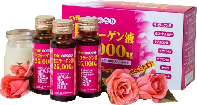 Collagen Inter Techno 25000mg làm đẹp da
