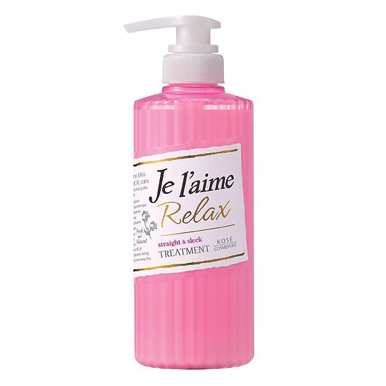 Dầu Dưỡng Tóc Kosé Cosmeport Je l'aime Relax Treatment Straight & Sleek 500ml