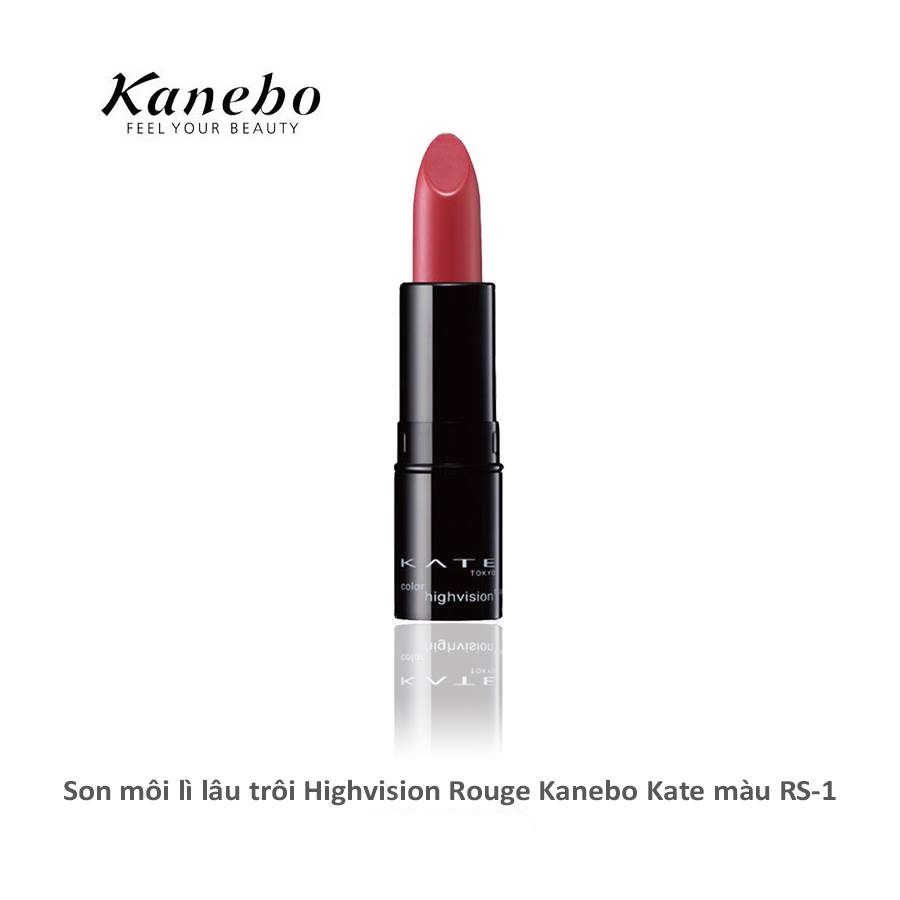 son lì lâu trôi Kanebo Kate Color Highvision Rouge màu RS-1
