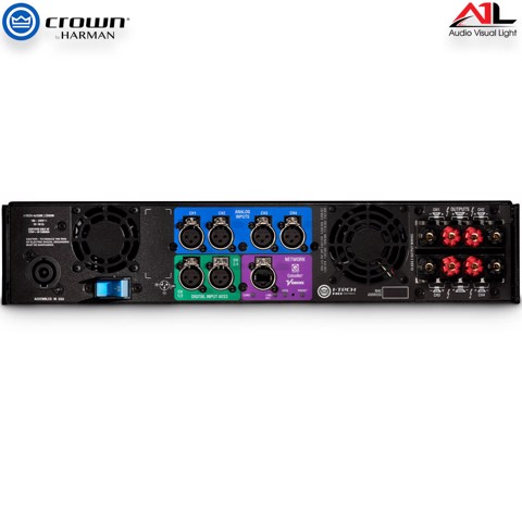 Amplifier Crown I Tech 4x3500HD