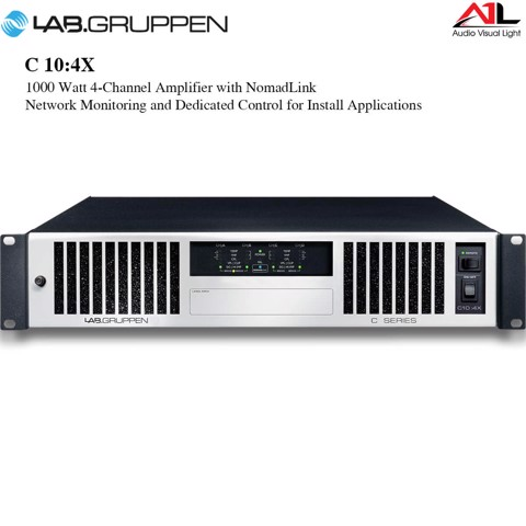Amplifier Lab Gruppen C 10-4X