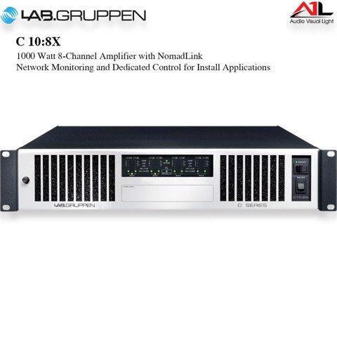 Amplifier Lab Gruppen C 10 8X