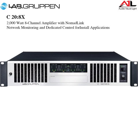 Amplifier Lab Gruppen C 20 8X