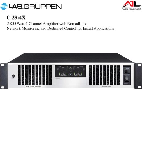 Amplifier Lab Gruppen C 28 4