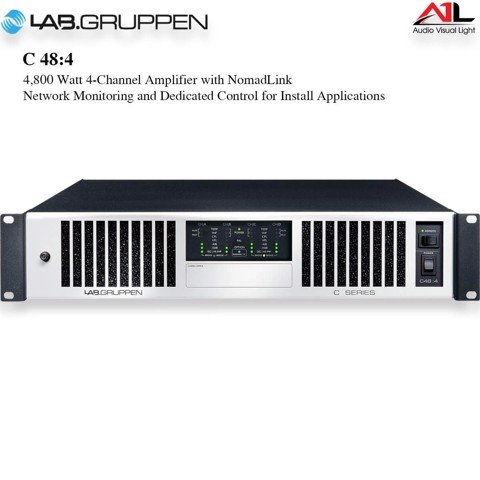 Amplifier Lab Gruppen C 48 4