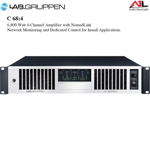 Amplifier Lab Gruppen C 68 4