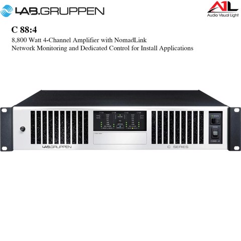 Amplifier Lab Gruppen C 88 4