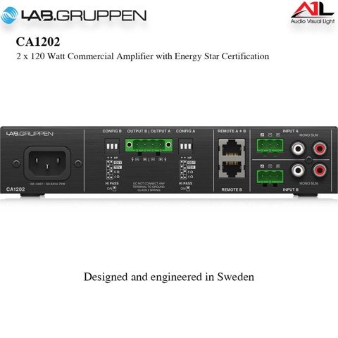 Amplifier Lab Gruppen CA1202