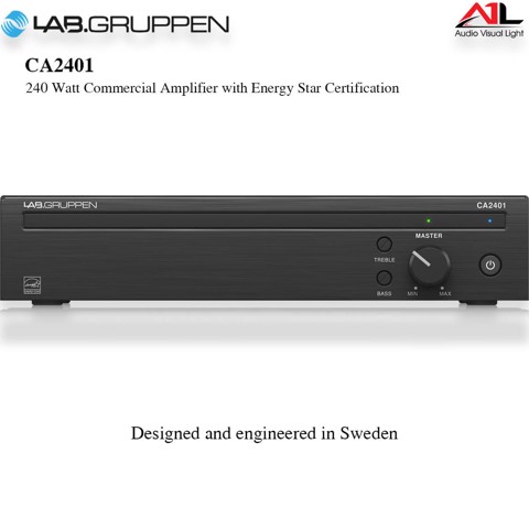 Amplifier Lab Gruppen CA2401