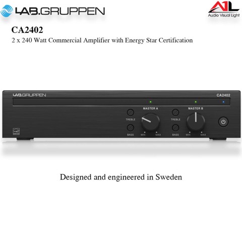 Amplifier Lab Gruppen CA2402