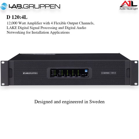 Amplifier Lab Gruppen D 120 4L