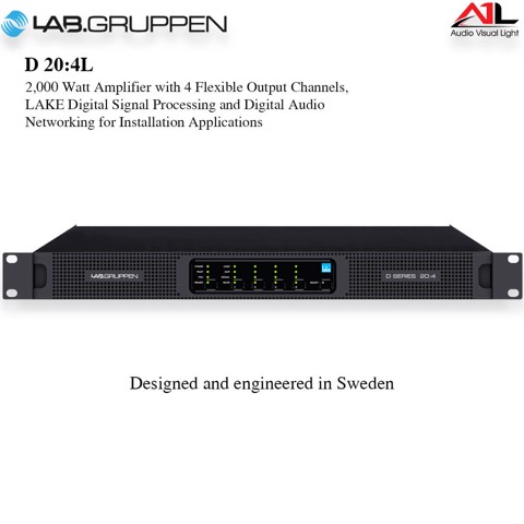 Amplifier Lab Gruppen D 20 4L