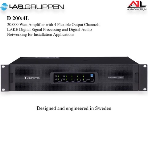 Amplifier Lab Gruppen D 200 4L