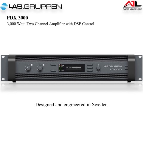 Amplifier Lab Gruppen PDX3000