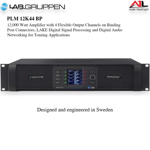 Amplifier Lab Gruppen PLM 12K44 BP