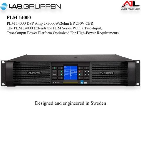 Amplifier Lab Gruppen FP 14000