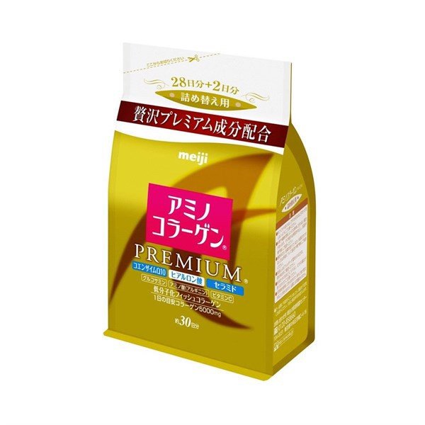 Collagen refill Meiji amino collagen premium 214g