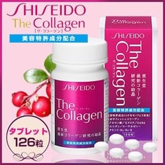 Collagen Shiseido 126 viên