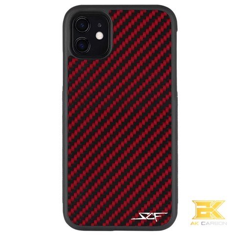 Ốp Carbon iPhone 11 | Red CLASSIC Series