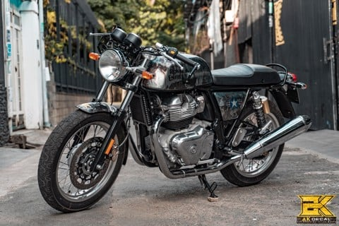 Tem xe Royal Enfield Continental GT 650