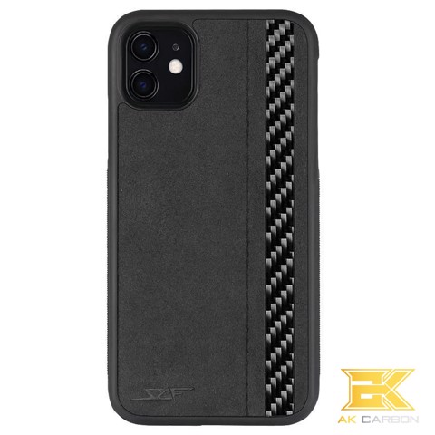 Ốp Carbon iPhone 11 | Alcantara CLASSIC Series