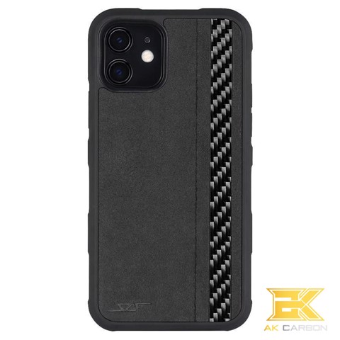 Ốp Carbon iPhone 11 | Alcantara ARMOR Series