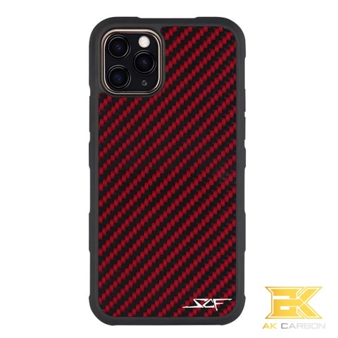 Ốp Carbon iPhone 11 Pro | Red ARMOR Series