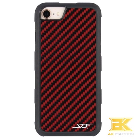 Ốp Carbon iPhone 7 & 8 | Red ARMOR Series