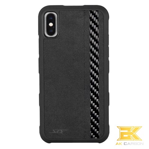 Ốp Carbon iPhone X & XS | Alcantara ARMOR Series