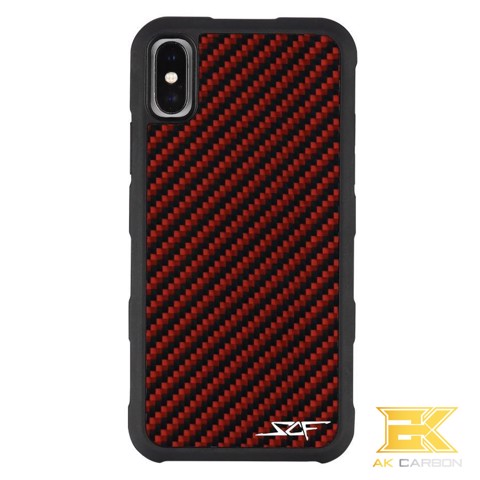 Ốp Carbon iPhone X & XS | RED ARMOR Series