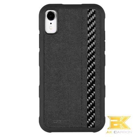Ốp Carbon iPhone XR | Alcantara ARMOR Series