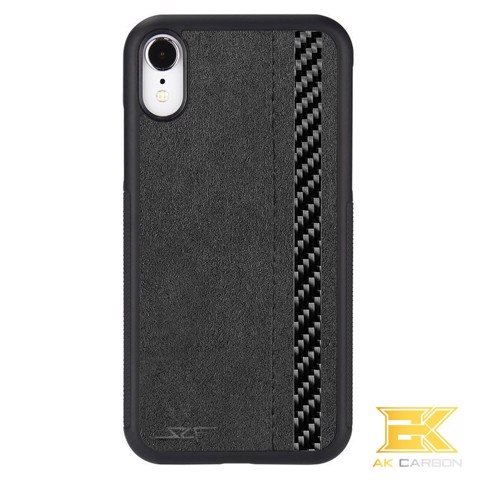 Ốp Carbon iPhone XR | Alcantara CLASSIC Series