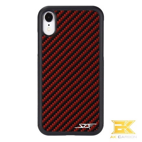Ốp Carbon iPhone XR | Red CLASSIC Series