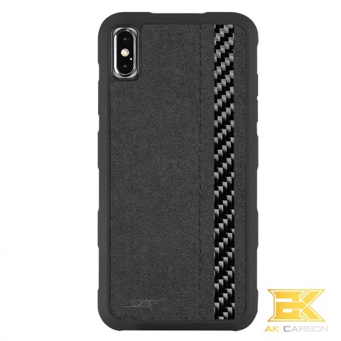 Ốp Carbon iPhone XS Max | Alcantara ARMOR Series