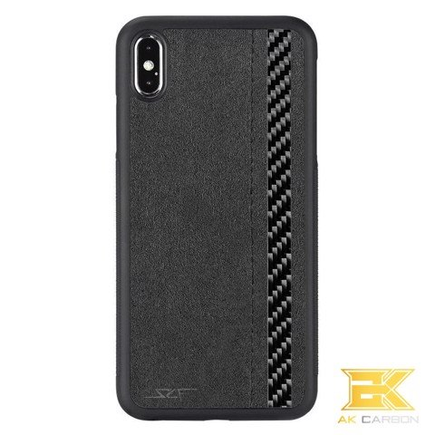 Ốp Carbon iphone XS Max | Alcantara CLASSIC Series