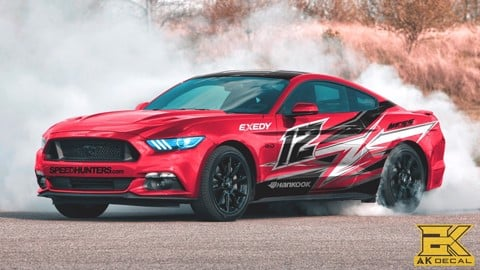 Tem xe Ford Mustang - 003