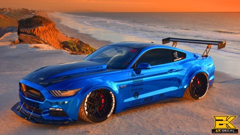 Tem xe Ford Mustang - 004