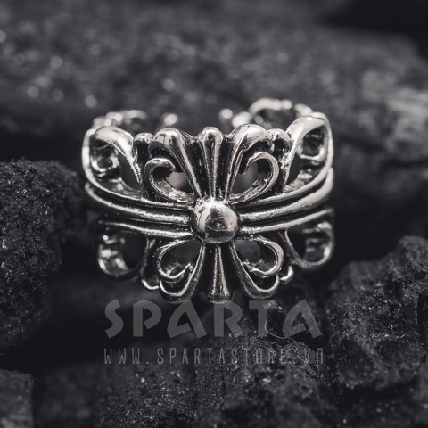 ( Sale black friday)Nhẫn thời trang Crown Ring