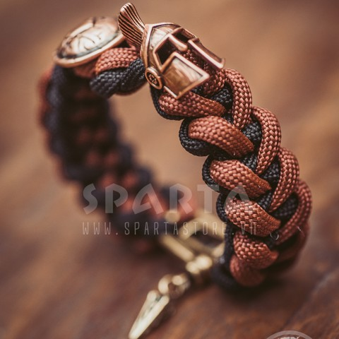 ( SALE  BLACK FRIDAY)Vòng tay nam Paracord Handmade Heart Plus