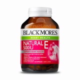 Blackmores Natural 500IU Vitamin E 150 Caps