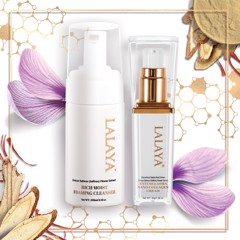 Special Combo: Lalaya Anti Melasma Nano Collagen Cream 30gram & Rich Moist Foaming Cleanser 100ml - LLYC2